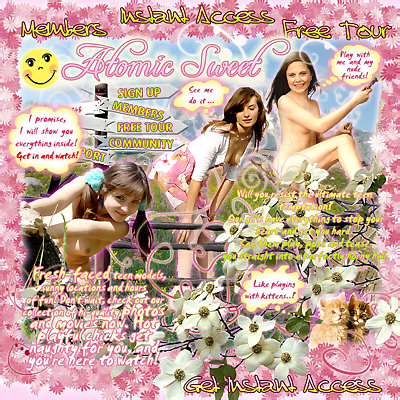 Glamour Flower Free Teens 82